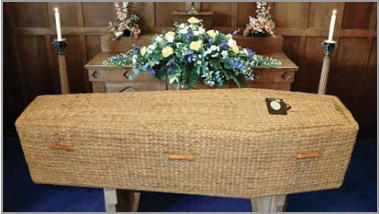 Willow Highstead coffin