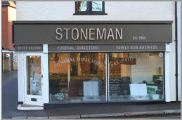 Stoneman Funerals - Memorial Office